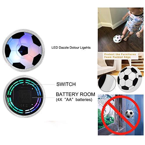Cozywind Rete di Calcio Set di Mini Porta da Calcio automontanti con Palla e Pompa per Bambini Rete di Ricambio per Porta da Calcio  90  60  47cm Dimensions of The Goal