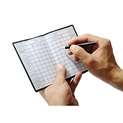 CZXING  Quaderno di precisione per Arbitro di Calcio e Fischietto da Arbitro in Metallo