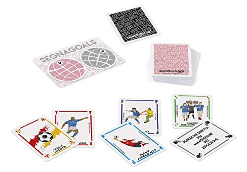 Dal Negro Supergoal La Gazzetta dello Sport Gioco Carte da Giocattolo 180 Multicolore 8001097570805