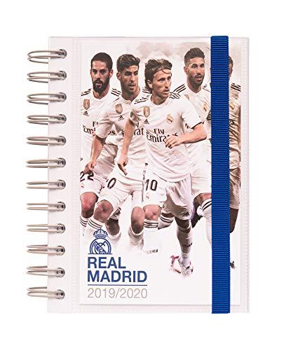 ERIK  Diario Scuola Ufficiale con Planner Giornaliero 20192020 10 Mesi  Real Madrid