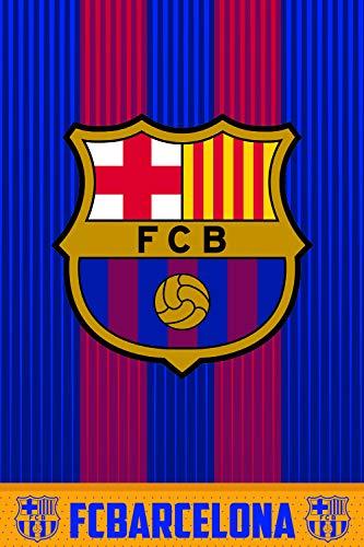 FC Barcelona  Coperta in pile FCB160