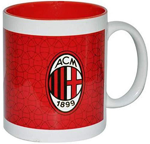 Giemme articoli promozionali  Tazza Mug Rossonera Stemma Milan Prodotto Ufficiale Idea Regalo Calcio Nuovo