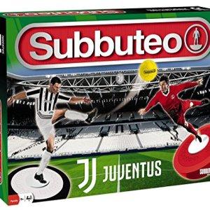 Giochi Preziosi Subbuteo Playset Juventus con 2 Squadre Tappeto Gioco 2 Porte Pallone
