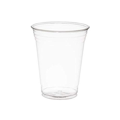 Heavy Duty Clear Plastic Cups grandi tumblers in plastica  forti bicchieri di pinta usa e getta  La Coppa di Birra Ideale per Festival Barbecue e Giochi di Calcio 660ml Full Pint  50 Pezzi