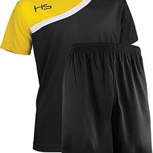 HS  Completo Sportivo Respect Maglia Manica Corta e Pantaloncino per Uomo e Donna