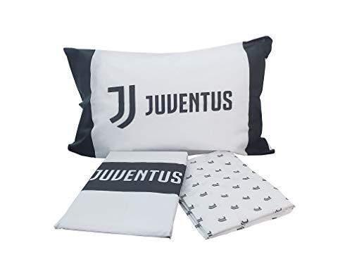 Juventus FC Completo Letto Una Piazza Bianco