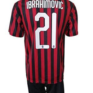 LC SPORT Completo Milan Zlatan Ibrahimovic 21 Replica Autorizzata 20192020 Bambino TaglieAnni 2 4 6 8 10 12 Adulto S M L XL 67 Anni