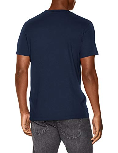 Levis SS Original HM Tee TShirt Blu Cotton  Patch Dress Blues 0017 Medium Uomo