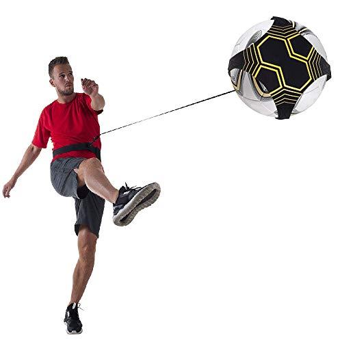 LFS Kit per lAllenamento Cintura Regolabile Calcio Allenamento per Calciare e Palleggiare