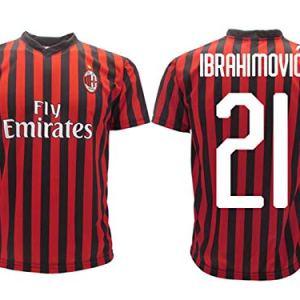 Maglia Ibrahimovic Milan Ufficiale 2019 2020 AC Adulto Bambino Zlatan Ibra Home 21 4 Anni