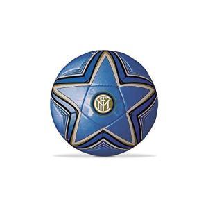 MONDO Novidea Pallone da Calcio Inter FC in Cuoio Prodotto Ufficiale