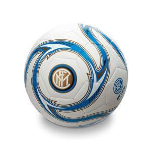 Mondo Sport  Pallone da Calcio cucito FC Inter Milano  size 5  410 g  Prodotto ufficiale  Colore Neroazzurrobianco  13642