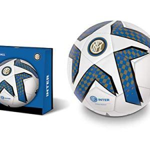 Mondo Toys  Pallone da Calcio cucito  FC Internazionale Milano  size 5  350 g  colore neroazzurro  13748