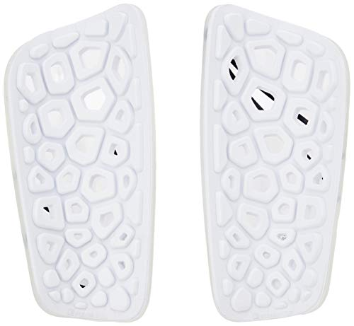 Nike Mercurial Lite Parastinchi Unisex  Adulto WhiteBlackWht 10