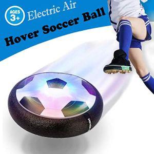 OUNDEAL Air Hover Calcio Calcio da Interno Fluttuante Air Hover Ball con Luce LED Pallone da Calcio Sportivi per Bambini Regalo per Un Bambino di 312 Anni