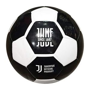 Pallone Calcio Juventus di Cuoio Misura 5 Prodotto Ufficiale 100