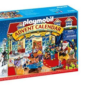 Playmobil Calendario dellAvvento Il Negozio dei Giocattoli di Natale dai 4 Anni 70188
