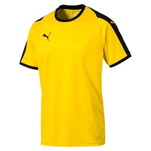 Puma Liga Maglietta Uomo Giallo Cyber Yellow Black M