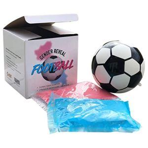 Sass Party  Gifts  Pallone da Calcio esploding con Polvere Blu e Rosa