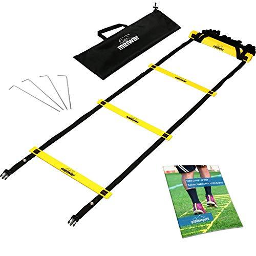 Set di formazione e di coordinazione con scala 6 m con borsa e pioli  Scaletta di Rapidit  Scalaetta di Rapidit per Calcio Fitness Sport Pallamano Calcio   EBook gratuito