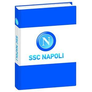 ssc napoli Diario Std 12M Napoli 13 6 cm x 18 3 cm Set per la Scuola 18 cm Bianco Azzurro