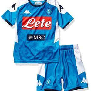 SSC Napoli Kit Gara Home Bambino 20192020 Blu 10 anni