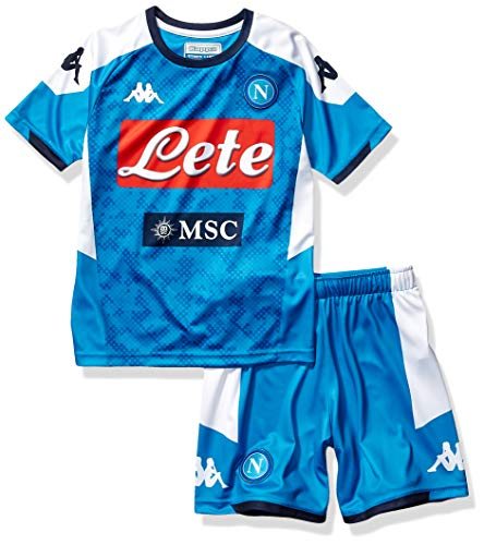 SSC Napoli Kit Gara Home Bambino 20192020 Blu 14 anni