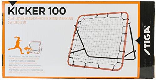 Stiga Sports 84262013  Rete rimbalzante per Allenamento Kicker 100 Nero