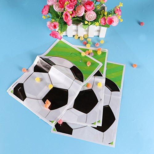 TOYMYTOY Pallone da calcio Party Favour Borse 20pcs Candy Gift Bag Rifornimenti del partito per il compleanno Kids Party