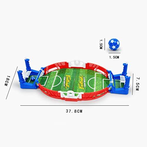 Toyvian Calcio Balilla Biliardino da Tavolo Giochi da Tavolo per Bambini Adulti