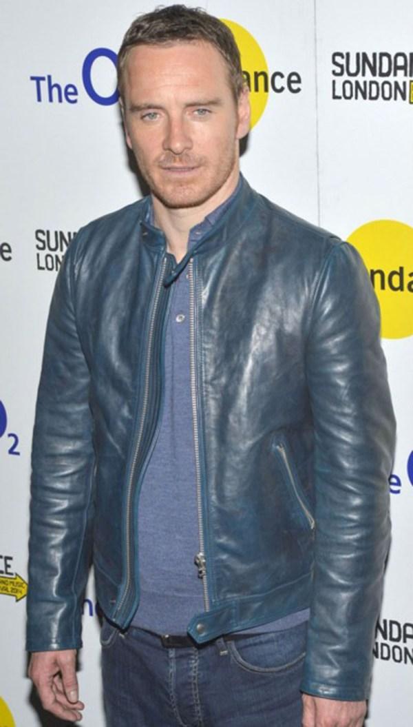 Joseph Somerhalder Michael Fassbender Leather Jacket