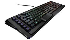 SteelSeries Apex M800, Clavier Gaming, Mecanique, Illumination LED RGB touche par touche, 6 Touches Macro , Profile bas, (PC / Mac) – Clavier US