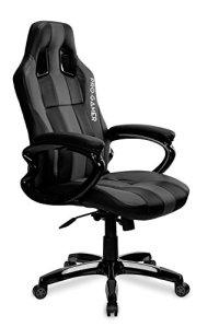 Jeu Chaise Daytona ergonomique Gaming, Proffessional Joueur Motif Home Office Computer Chaise pivotante Racing, Tapis de souris Pro Gamer pour gratuit. PU Cuir rembourré Chaise de bureau avec chaise inclinable et chrome. Tapis de souris.