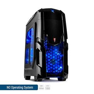 Sedatech PC Gamer Advanced AMD Athlon II 845 4x 3.5Ghz (max 3.8Ghz), Geforce GTX1050 2Go, 8Go RAM DDR3, 1To HDD, USB 3.0, Wifi, CardReader, HDMI2.0, Résolution 4K, DirectX 12, Alim 80+. Unité centrale sans OS