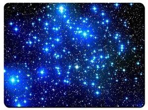 'MeeNY Inc Tapis de souris de gaming Pad XL–Galaxy étoiles