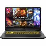 ASUS TUF A17-TUF766II-H7014T PC Portable Gaming 17.3» (AMD R7-4800H, RAM 8Go, 512Go SSD, NVIDIA GeForce GTX 1650 Ti – 4GB GDDR6 , Windows 10) Clavier AZERTY Français