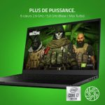 Razer Blade 15 Base Model (2020): Gaming Laptop avec 15.6 » Full HD 144Hz Modèle de Base, Intel Core i7, NVIDIA GeForce RTX 2070, 16GB RAM, 512GB SSD, Chroma RGB Éclairage | FR Layout