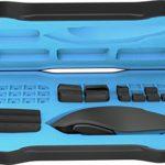 Roccat Nyth Souris Gamer Modulaire pour MMO, 18 Boutons Programmables, Capteur Laser 12000 dpi, Filaire et Ergonomique, Silencieuse, Optique, Configuration FPS et MOBA, Connexion USB pour PC, Noir