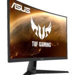 ASUS TUF Gaming VG27VH1B – Ecran PC eSport 27″ FHD – Dalle VA incurvée – 16:9 – 165Hz – 1ms – 1920×1080 – HDMI & VGA – Haut-parleurs – AMD FreeSync Premium – ELMB – 120% sRGB