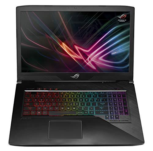 Asus ROG GL703GE EE217T PC Portable Gamer 17.3″ Gris Métal (Intel Core i5, RAM 8 Go, HDD1 1To + SSD 256 Go, Nvidia GTX 1050Ti 4G) Clavier AZERTY Français