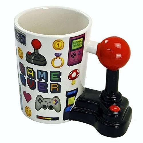 Ebiz Tasse avec Anse Manette Joystick Gamer Over mug Jeux vidéo