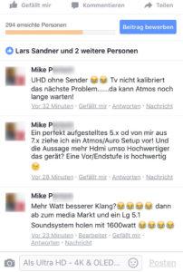 Facebook-Kritik