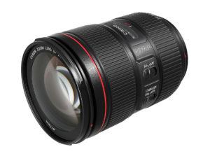 Das neue 24-105er Zoom bietet sich als Standard-Optik an.