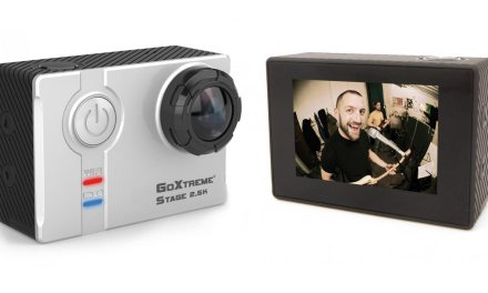 GoXtreme Stage 2.5K Ultra HD: Neue Stereo 2.5K Actioncam