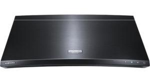 Samsungs Ultra-HD-Blu-ray-Player im Curved-Design.