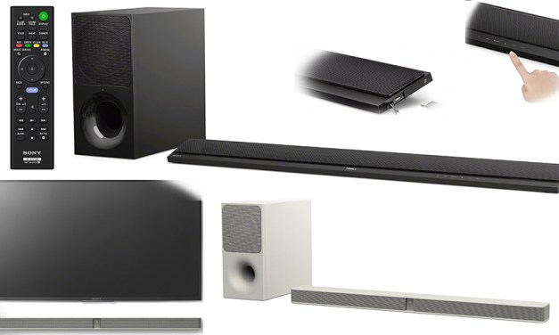 Sonys neue Soundbars haben mit Ultra-HD Blu-rays und 4K-TVs keine Probleme