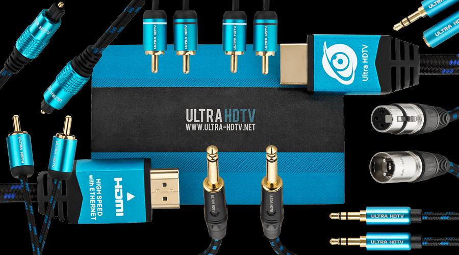 Ultra HDTV erweitert Produktsortiment um hochwertige Audiokabel