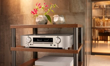 Slimline AV-Receiver von Marantz als Alternative zu massiver Elektronik