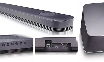 Dolby-Atmos Soundbar LG SJ9 ist bei den Händlern angekommen