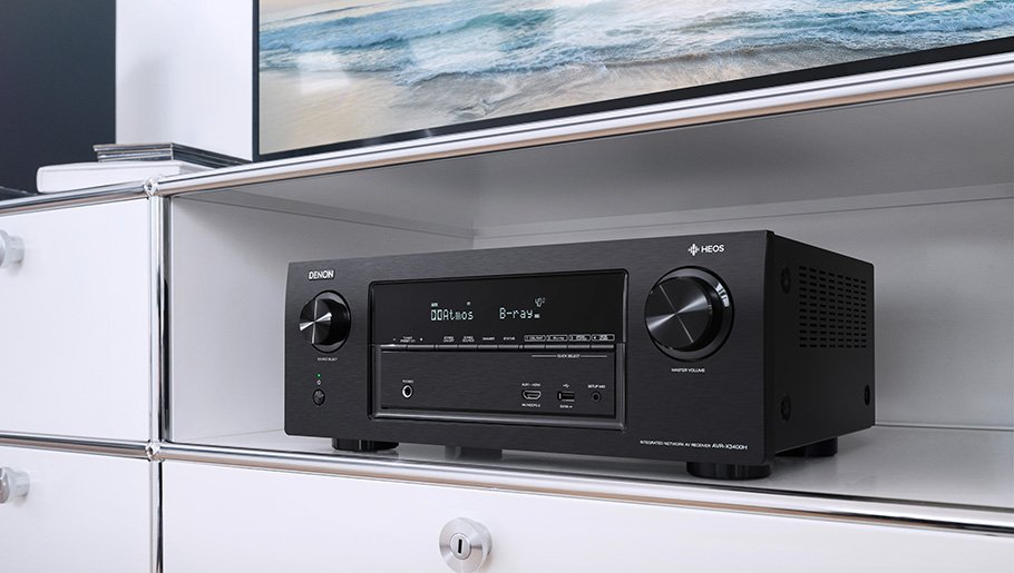 3D-Klang plus Hi-Res Audio und Multiroom: Denons neuer Tausendsassa